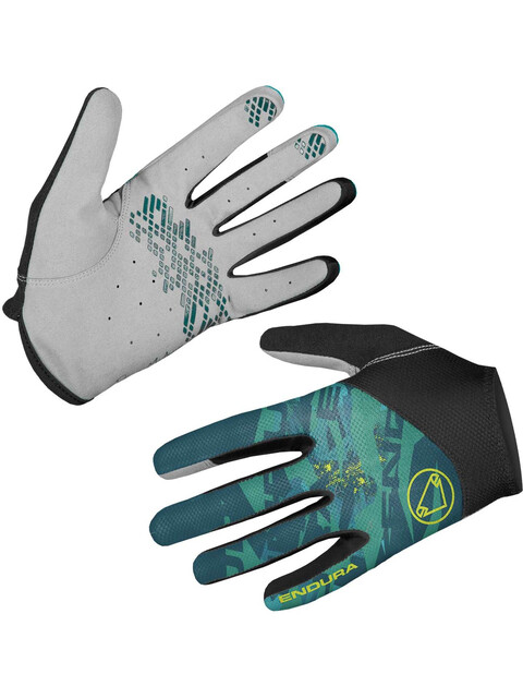 Endura Hummvee Lite II Handskar Dam grå/blå